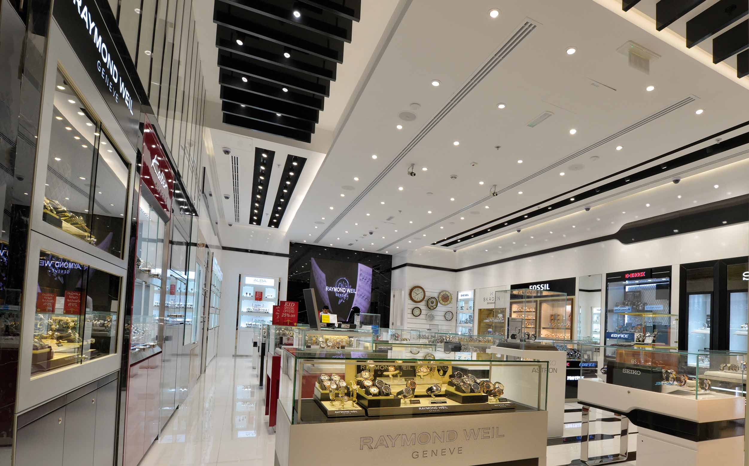 LED Downlights for shops UAE